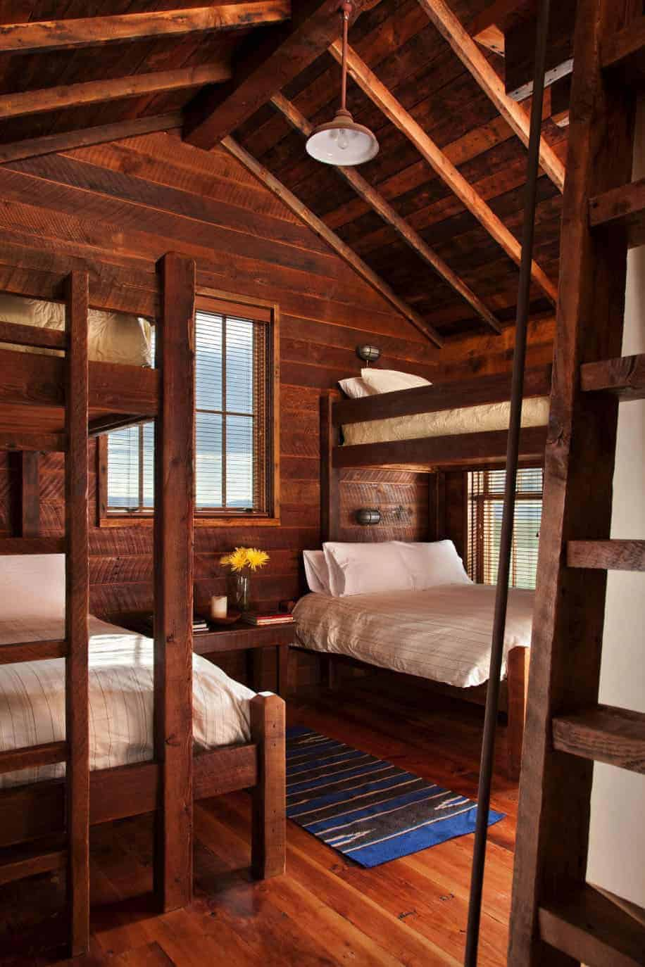rustic-style-bunk-bedroom