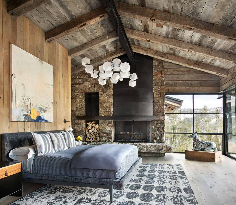 rustic-mountain-style-bedroom