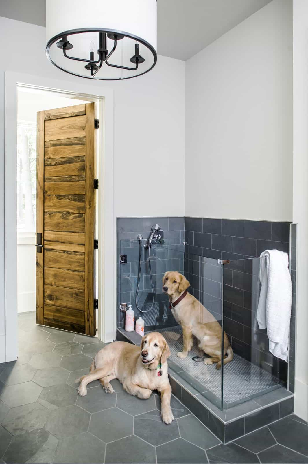 modern-farmhouse-mudroom-dog-shower