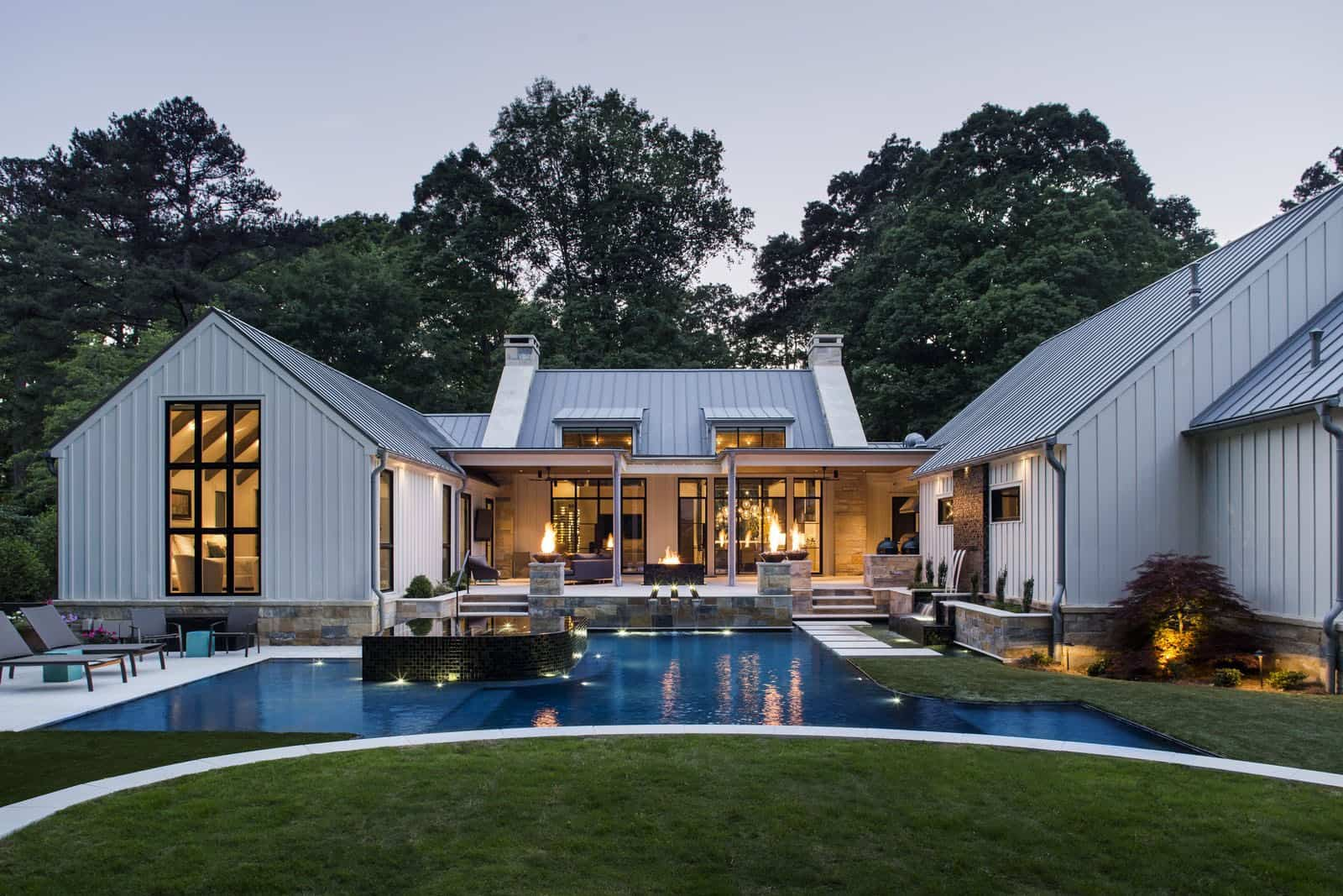 modern-farmhouse-exterior-and-swimming-pool