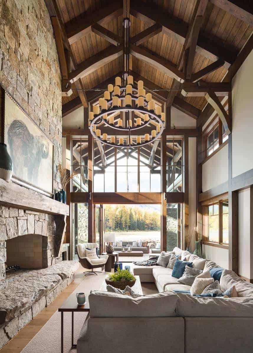 timber-frame-mountain-chalet-living-room