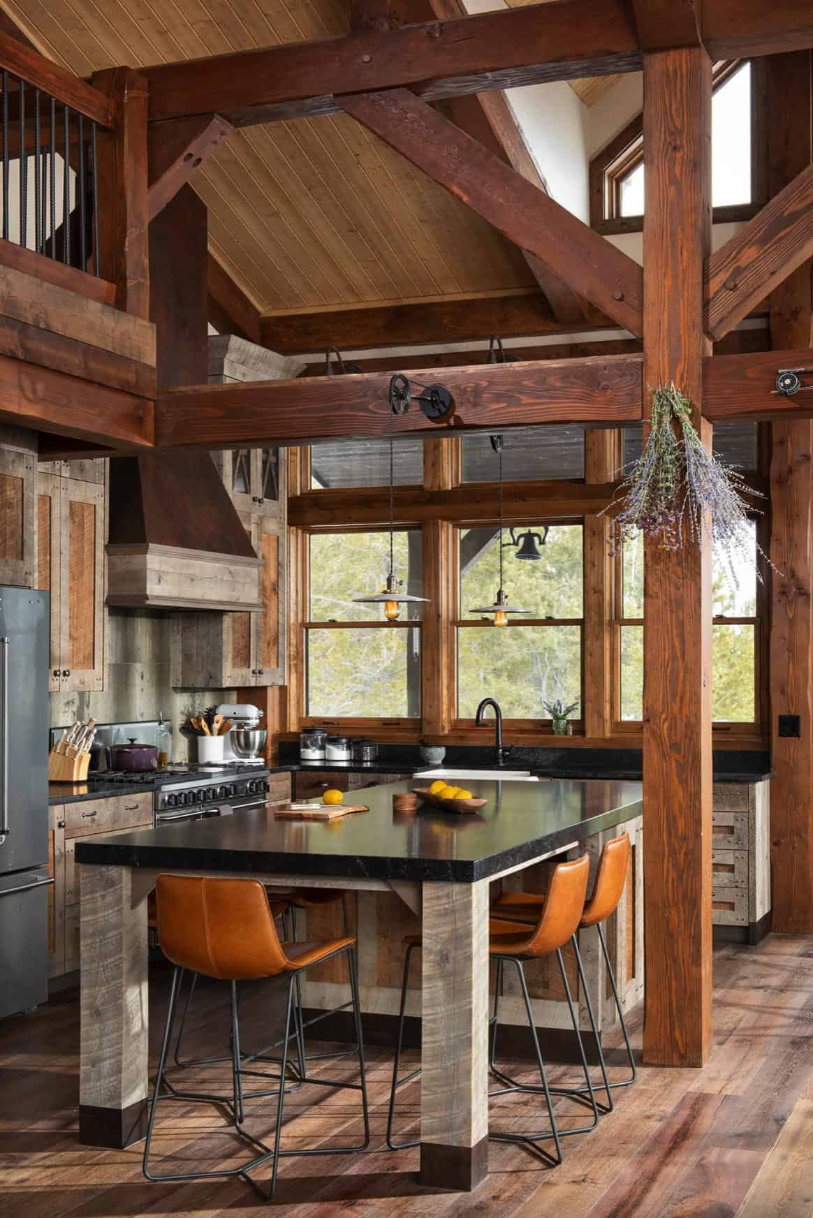 rustikalno-drveni-okvir-kuhinja