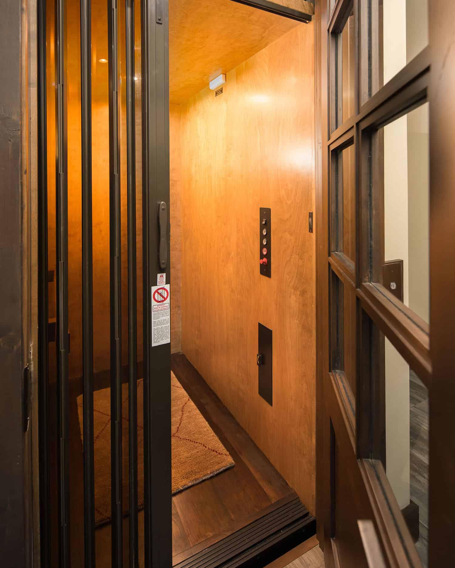 rustic-ski-retreat-elevator