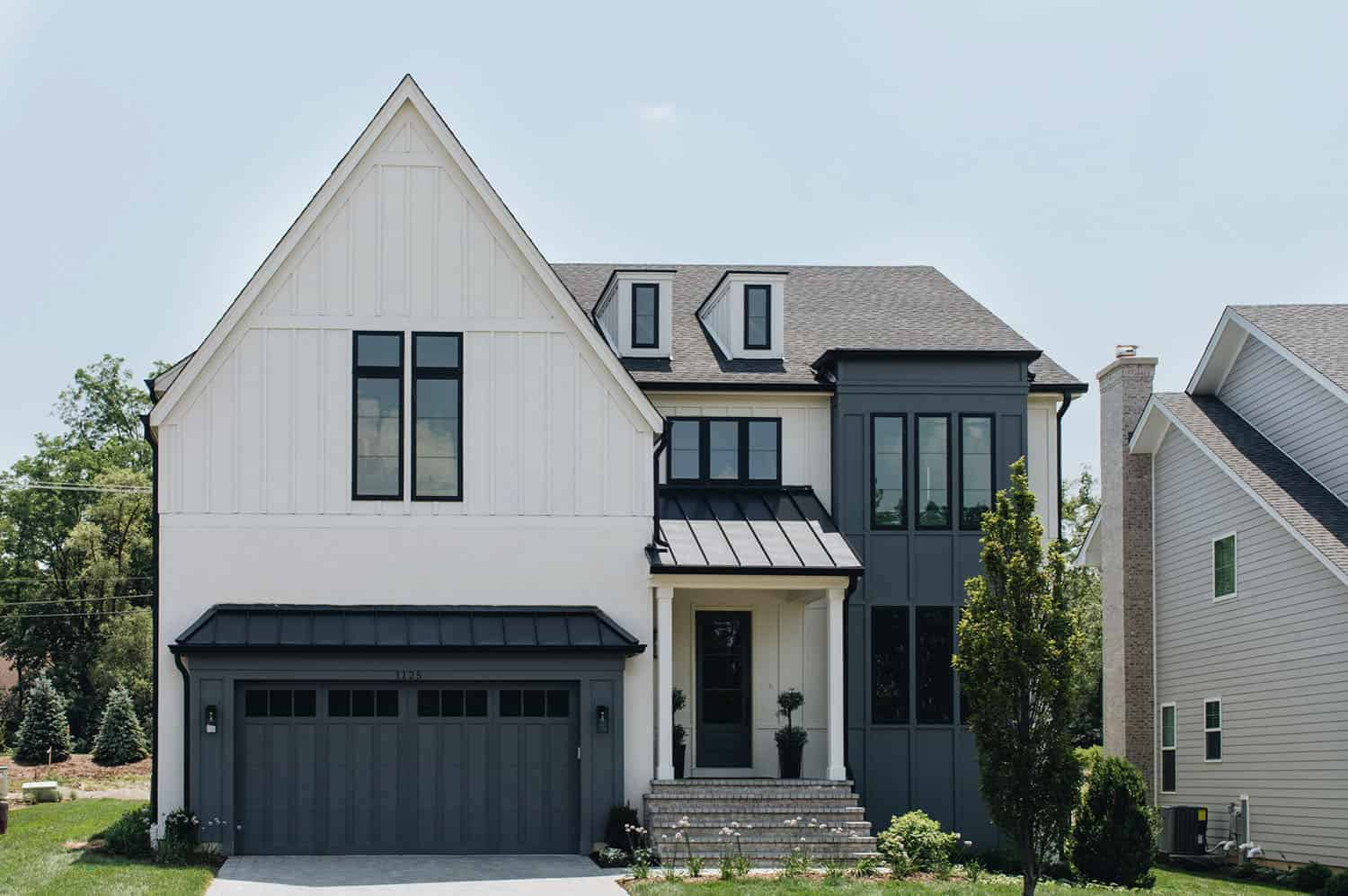 transitional-style-home-exterior