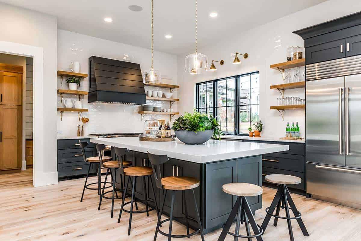 urbana-seoska kuća-stil-kuhinja