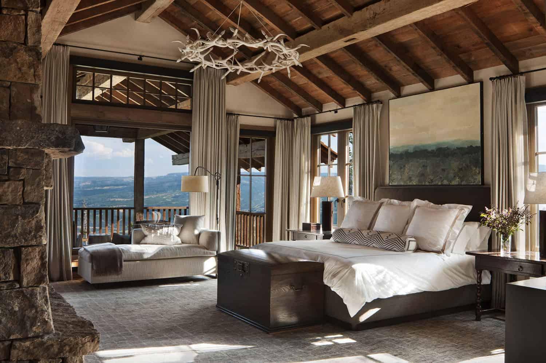 rustic-mountain-retreat-bedroom