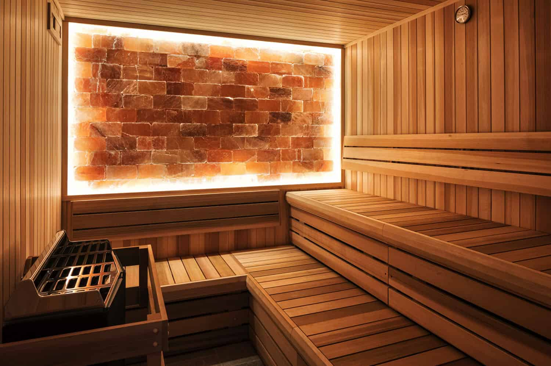 sauna u stilu plaže