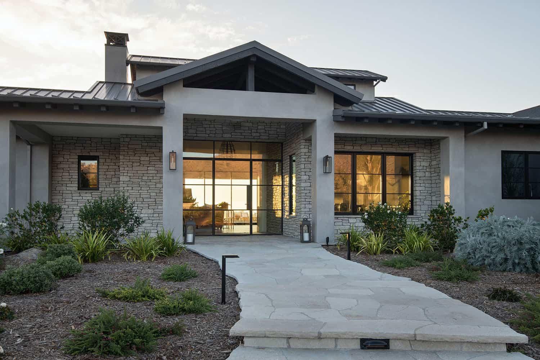 moderna-seoska kuća-stil-kuća-eksterijer