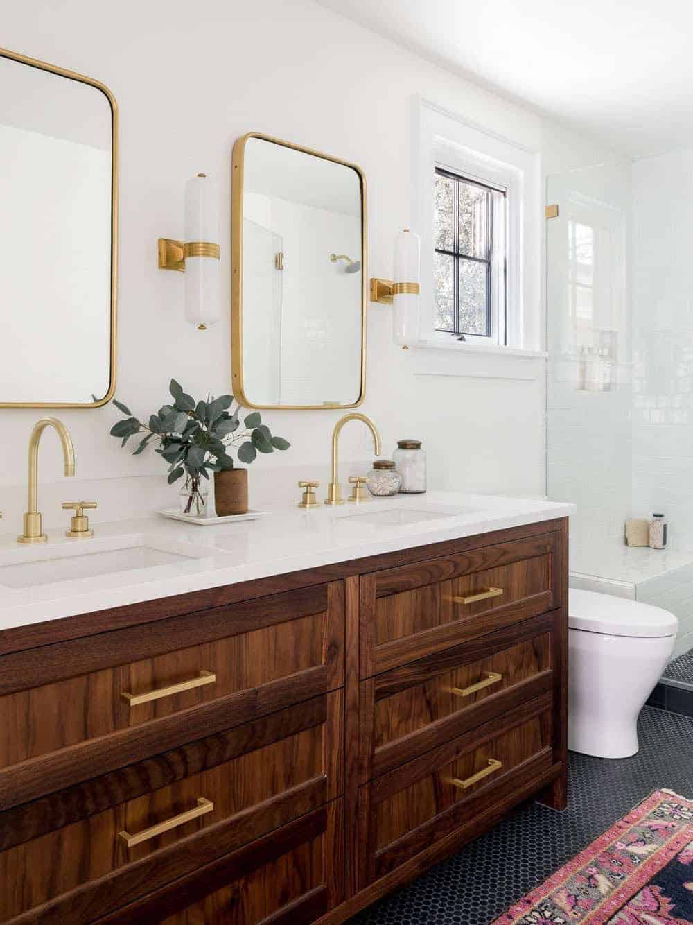 kupaonica u kolonijalnom stilu
