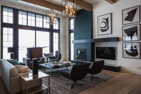 featured posts image for Inspiring contemporary home with gorgeous industrial accents in Alberta