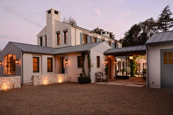 featured posts image for Rustic French farmhouse with a contemporary twist in California