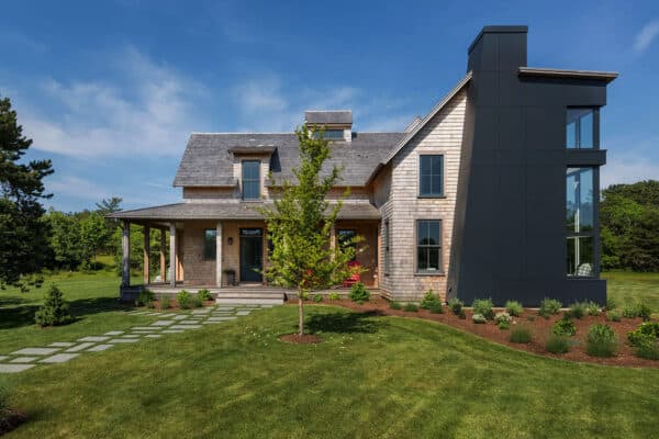featured posts image for Inviting modern farmhouse provides family retreat on Martha's Vineyard