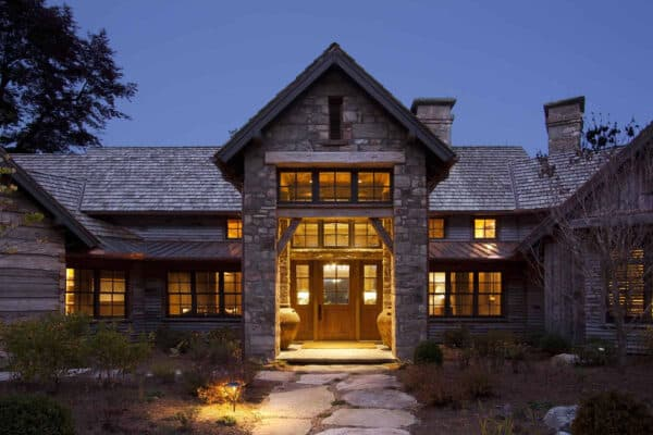 featured posts image for Mountain craftsman home with rustic elegance in Blue Ridge Mountains
