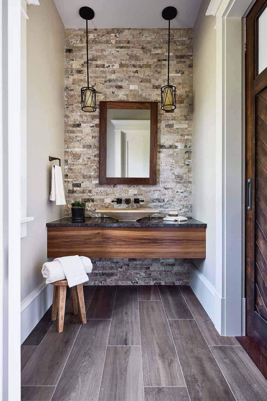 kupaonica nadahnuta planinom