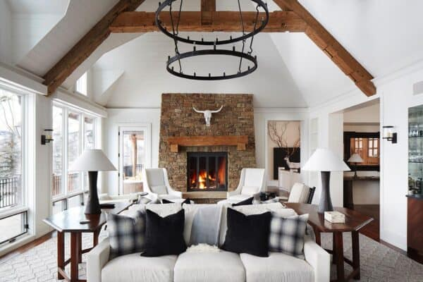 featured posts image for Mountain-inspired ski retreat in Aspen provides ultimate winter getaway