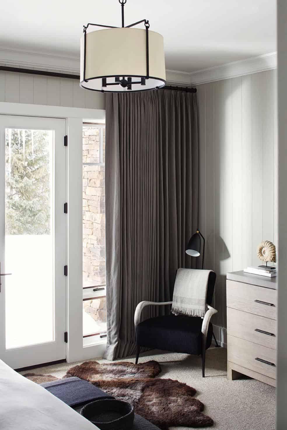 rustikalno-spavaća soba