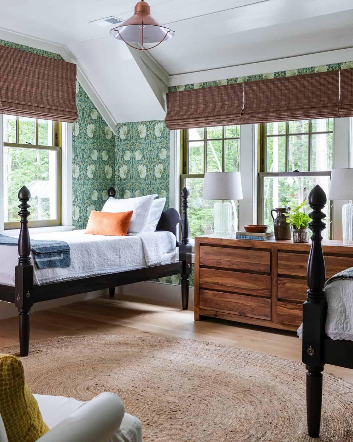 seoska kuća-banja-spavaća soba