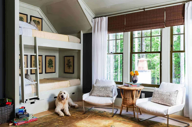 seoska kuća-krevet-spavaća soba