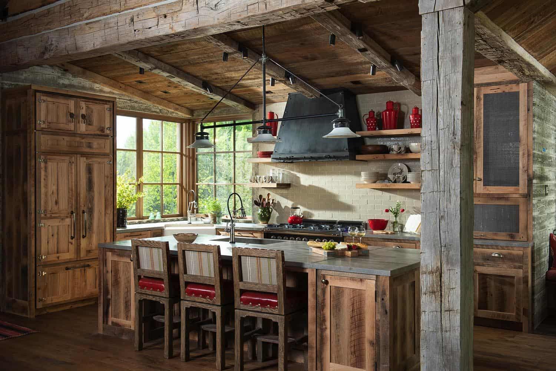 rustic-mountain-kitchen