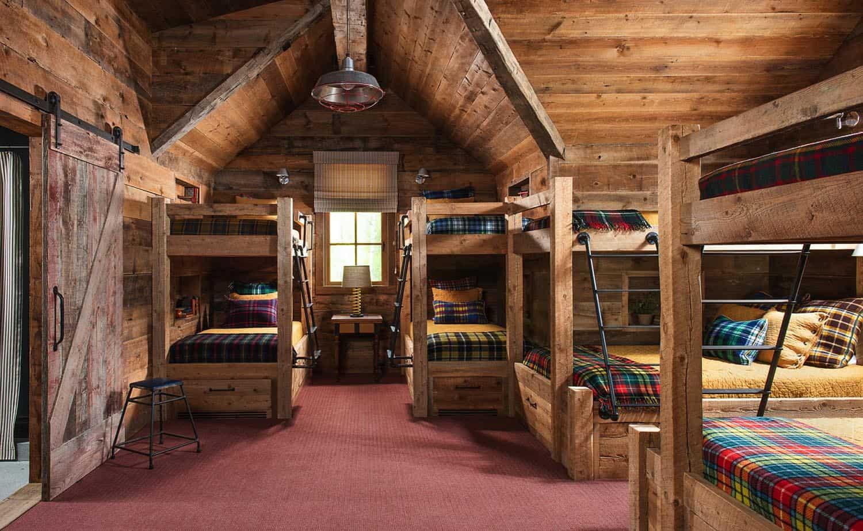 rustic-mountain-kids-bunk-bedroom