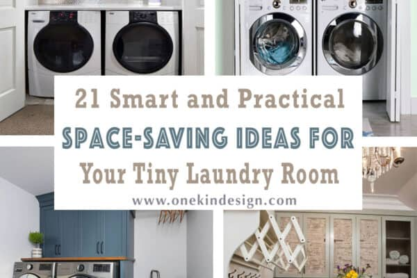 featured posts image for 21 Smart and Practical Space-Saving Ideas For Your Tiny Laundry Room