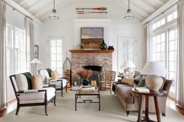 featured posts image for Inviting lakeside cabin showcasing beautiful design details in Wisconsin