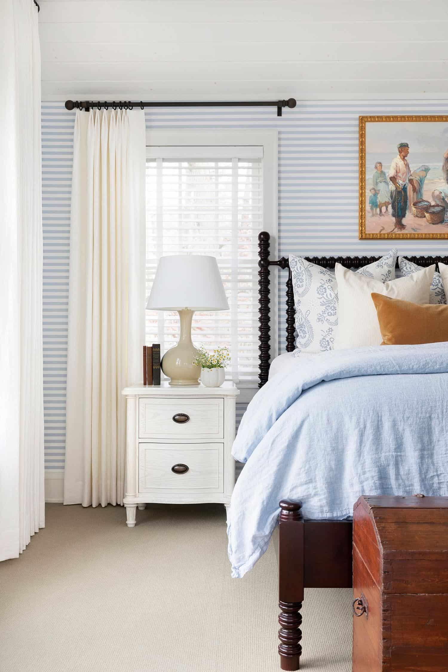 spavaća soba u prijelaznom stilu