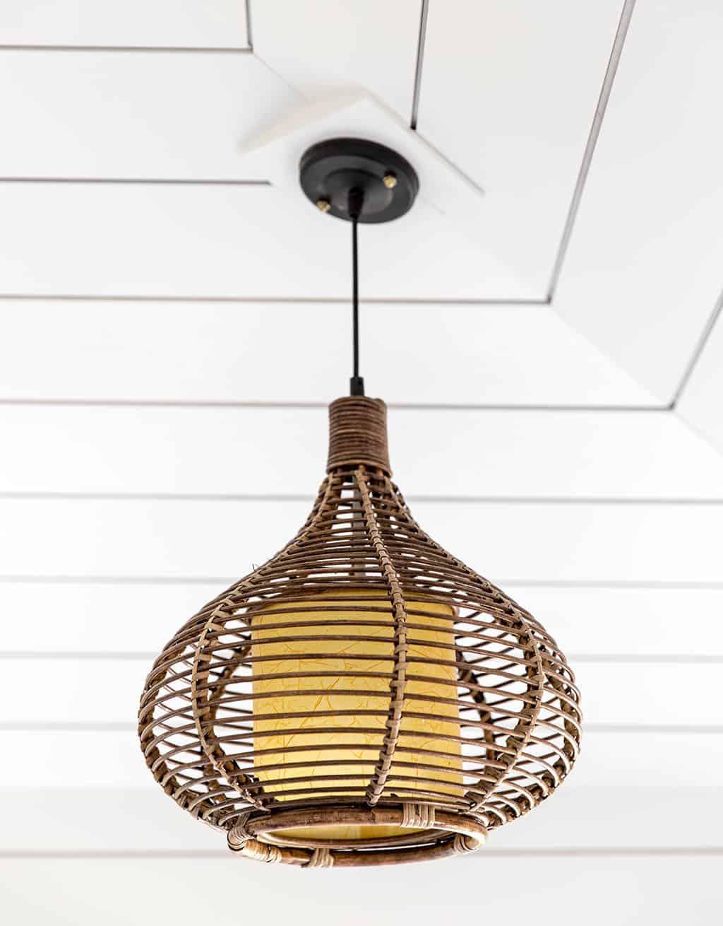svjetiljka u stilu plaže
