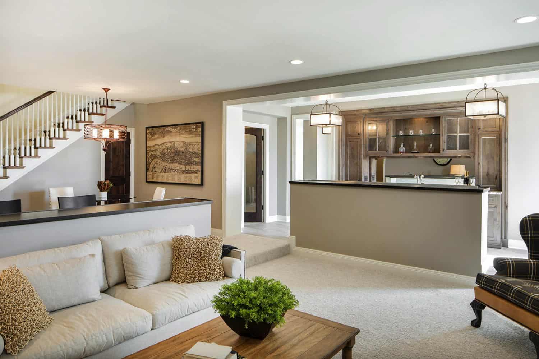 beach-style-basement-family-room
