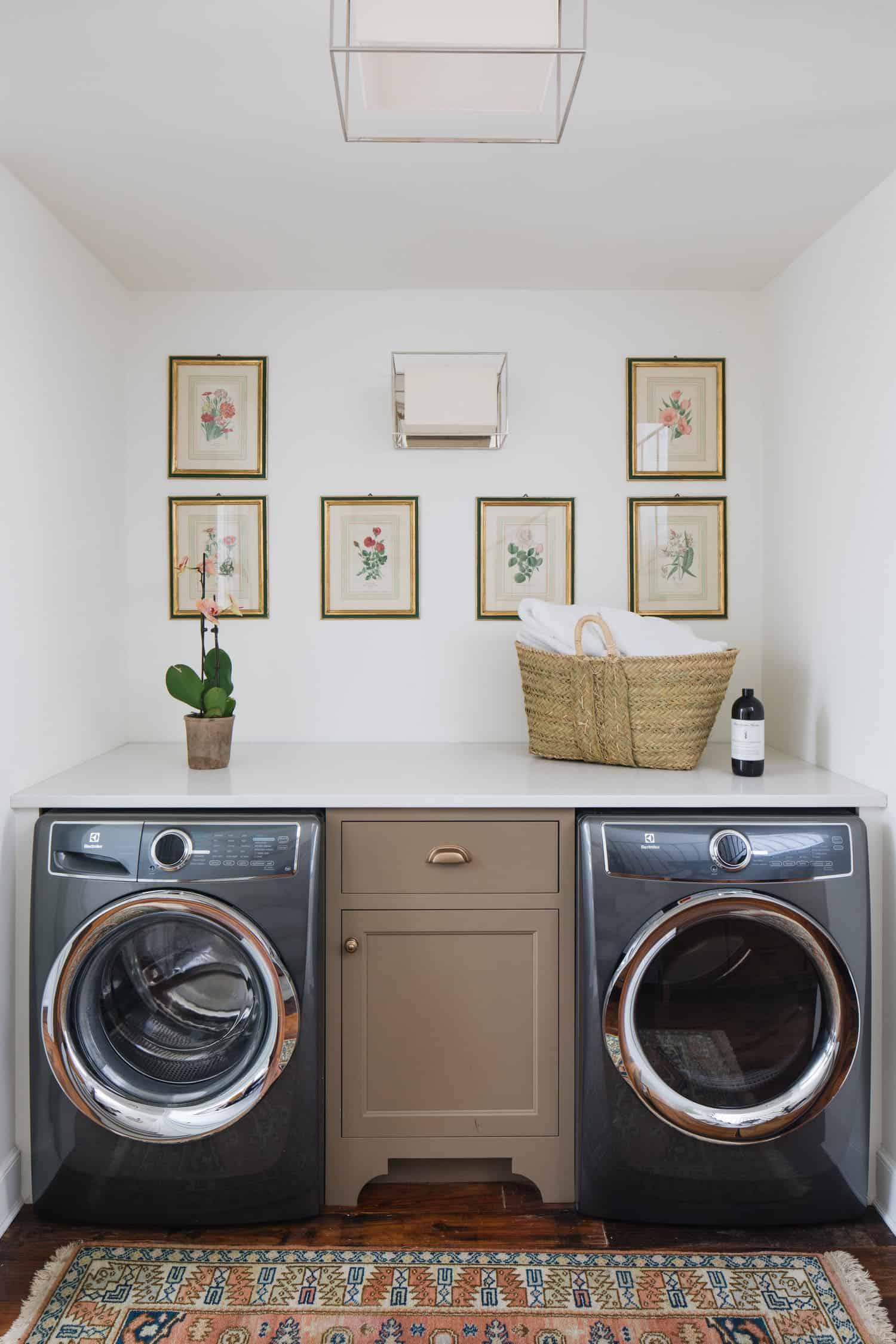 praonica rublja u tradicionalnom stilu