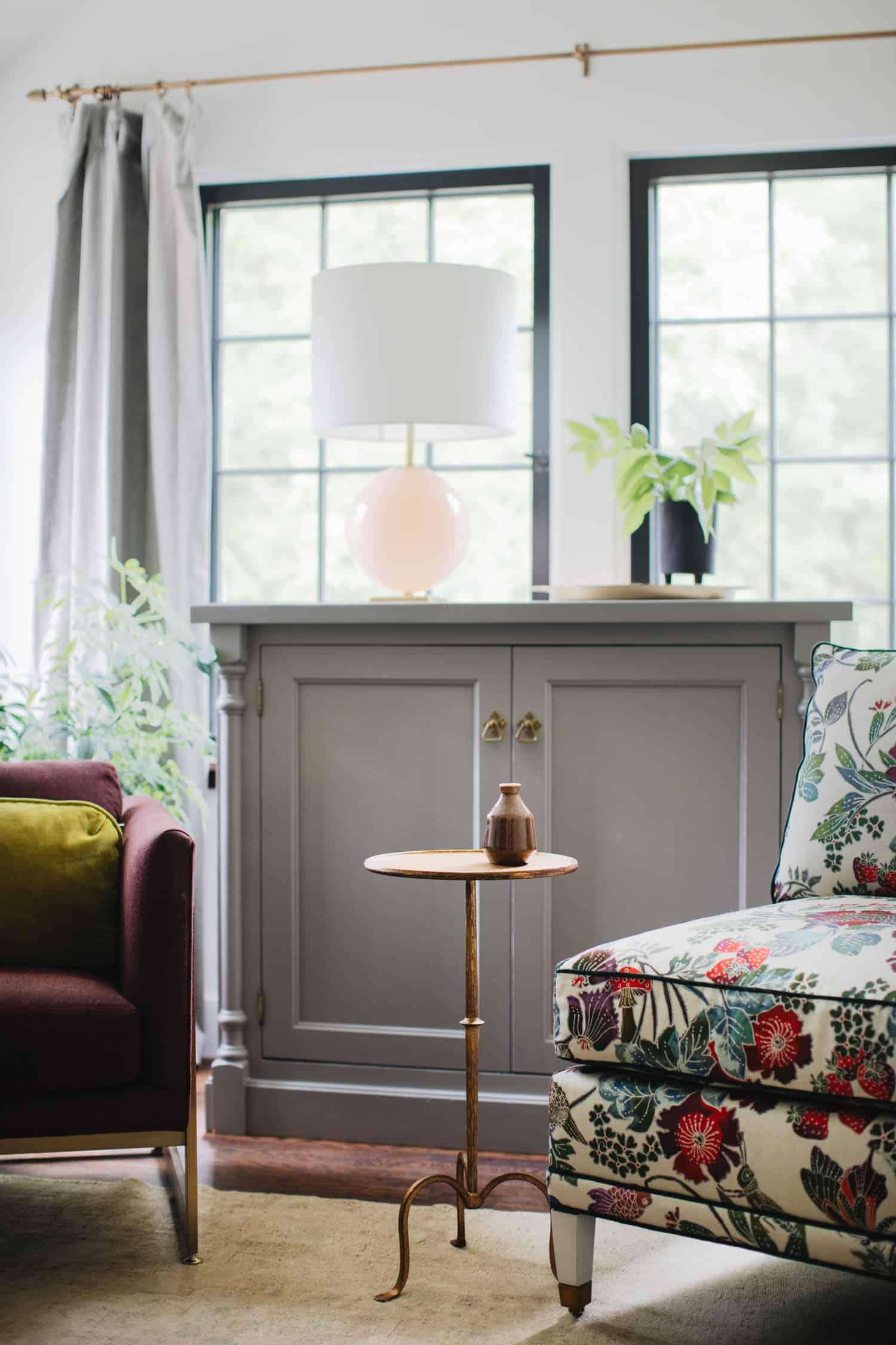 dnevna soba u tradicionalnom stilu
