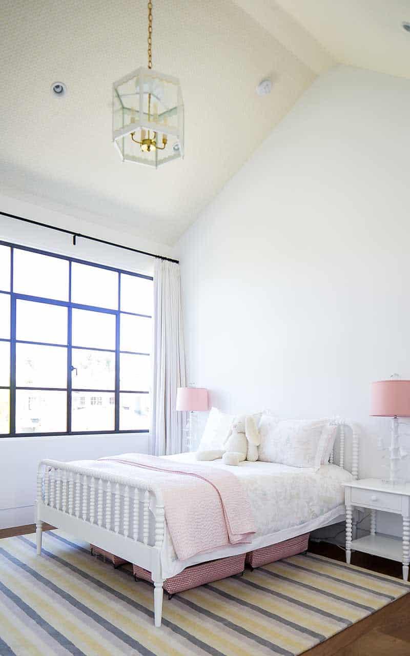 spavaća soba moderne djece sredinom stoljeća