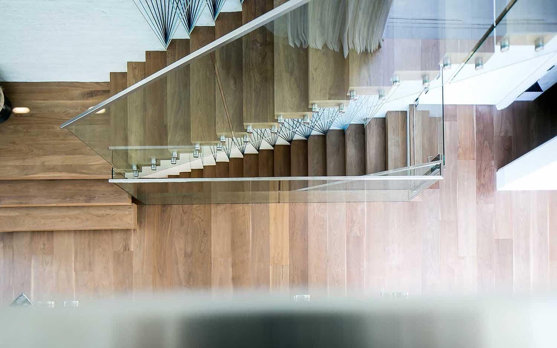 moderno stubište iz sredine stoljeća