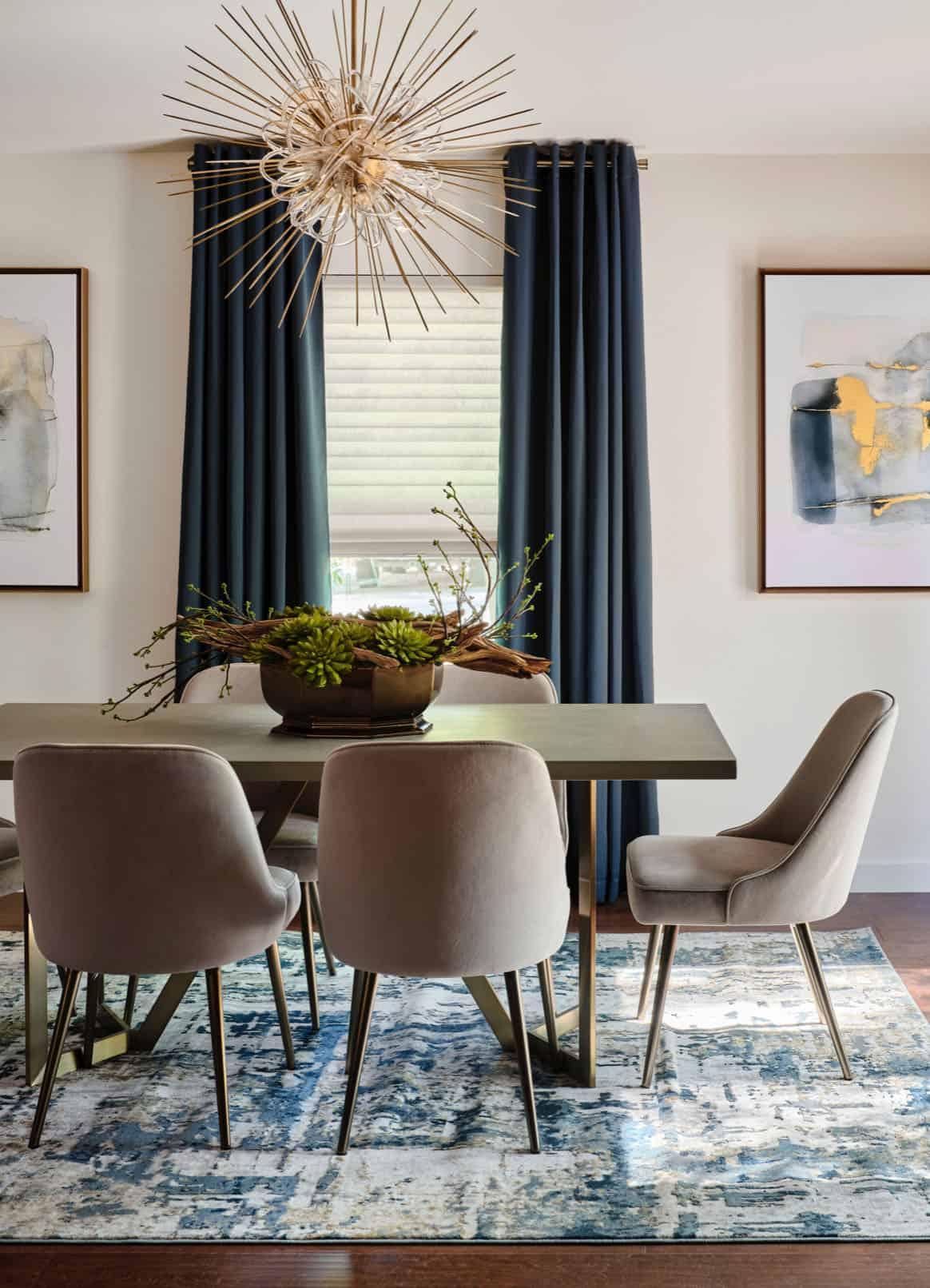 mid-century-modern-dining-room