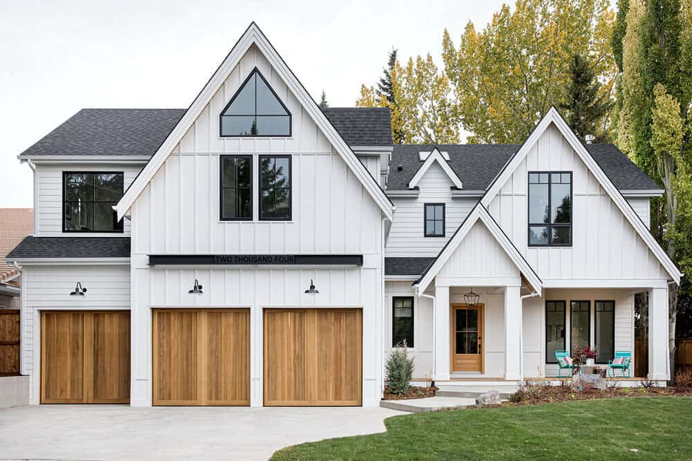 Timeless modern farmhouse in Calgary designed to feel like a staycation
