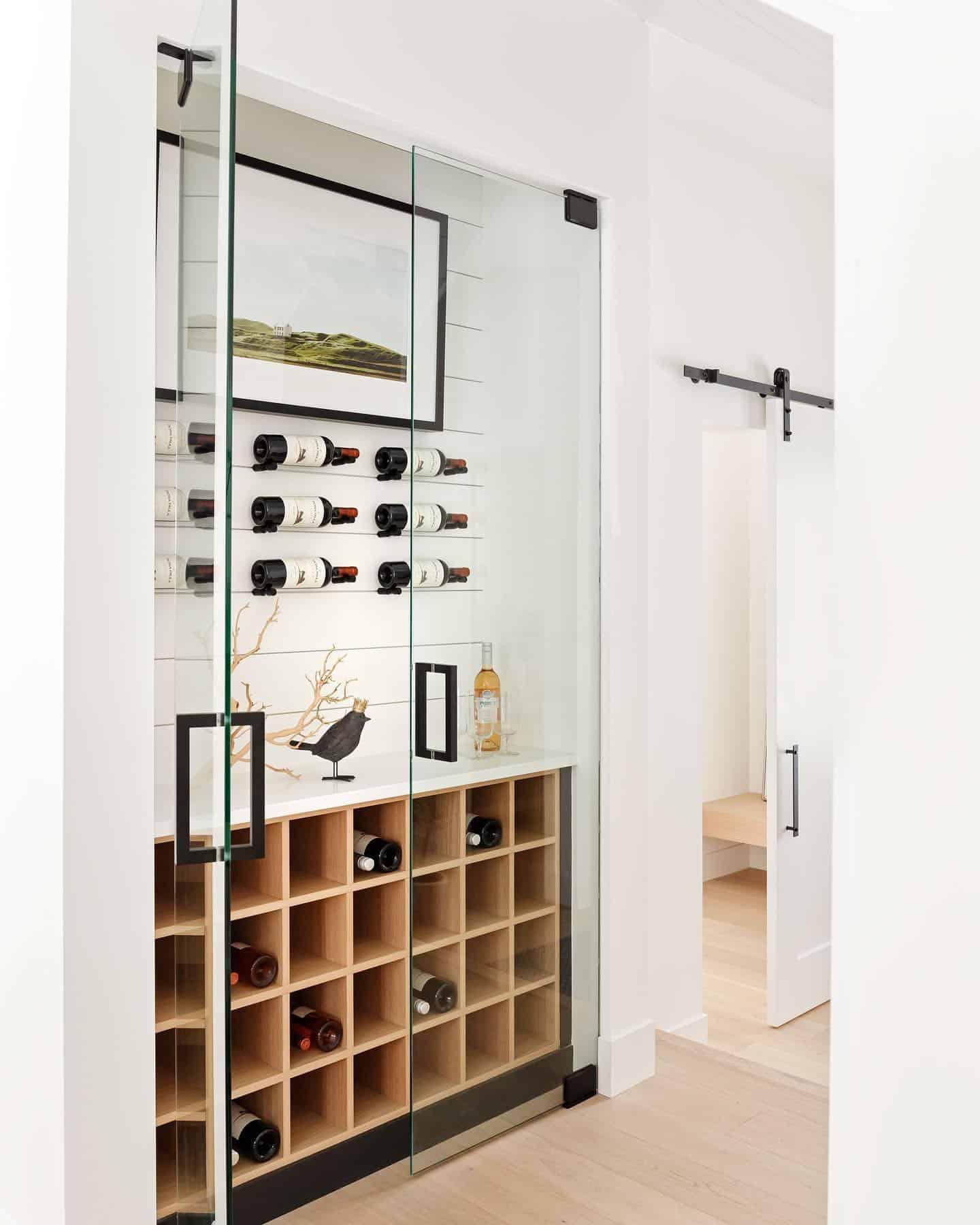 timeless-modern-farmhouse-wine-cellar