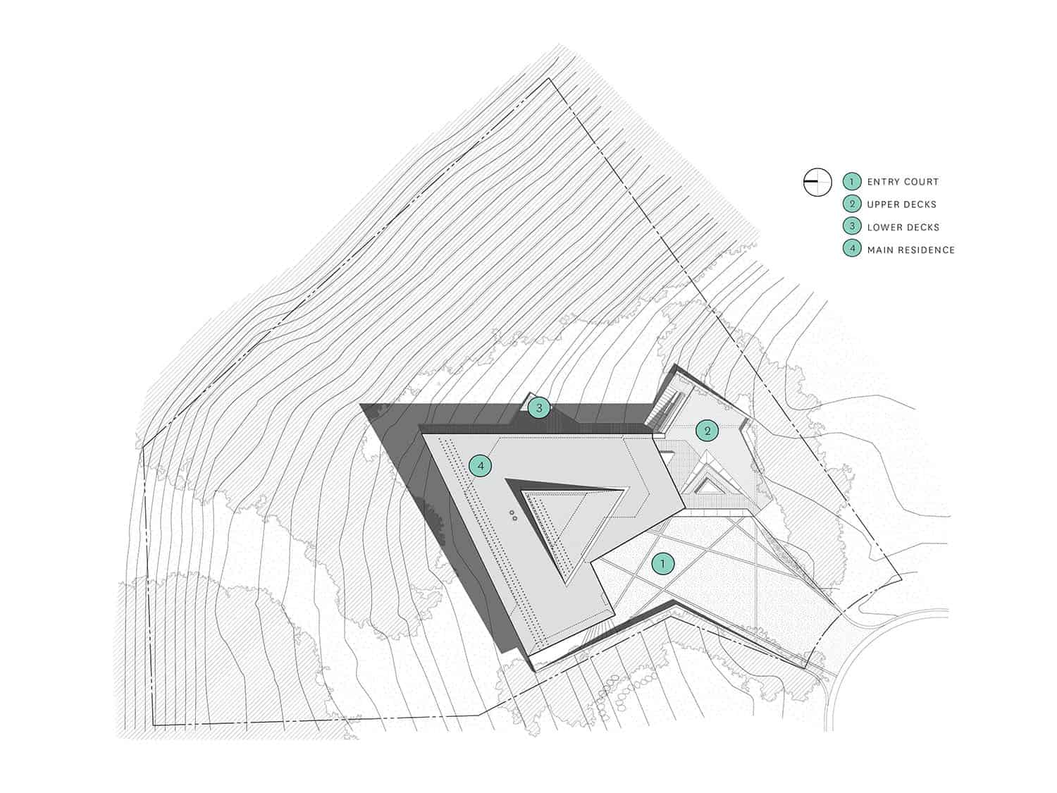 modern-mountain-retreat-site-plan