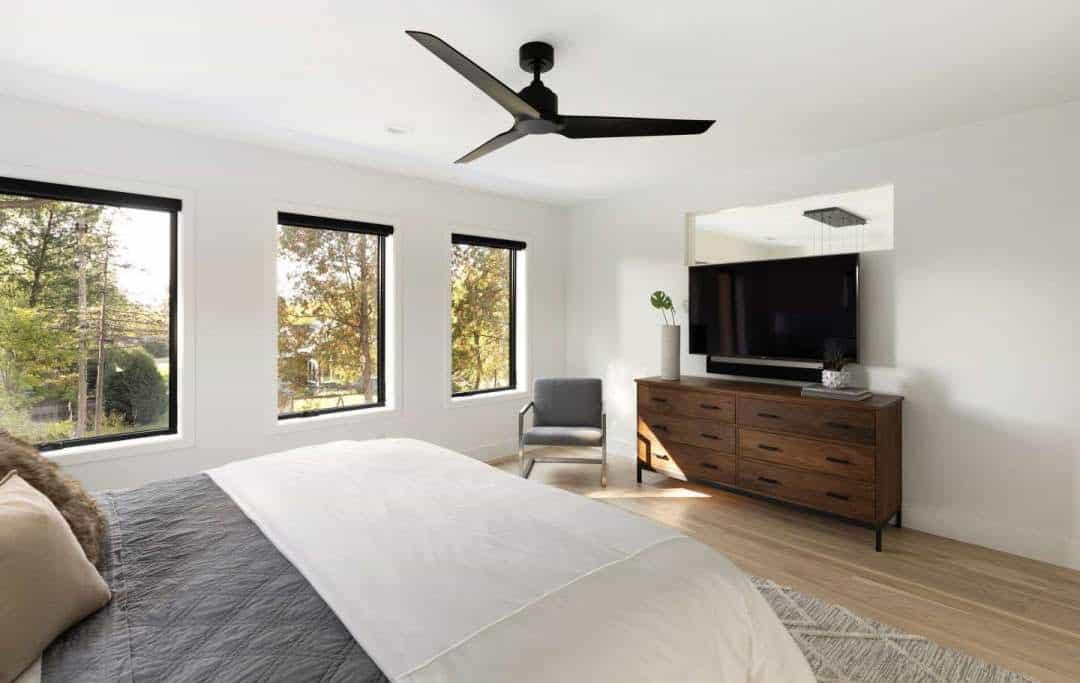 skandinavsko-spavaća soba