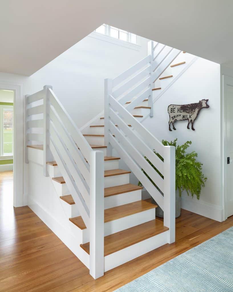 seoska kuća-stubište