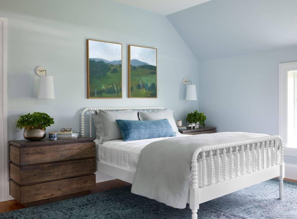 nova-engleska-moderna-seoska kuća-spavaća soba
