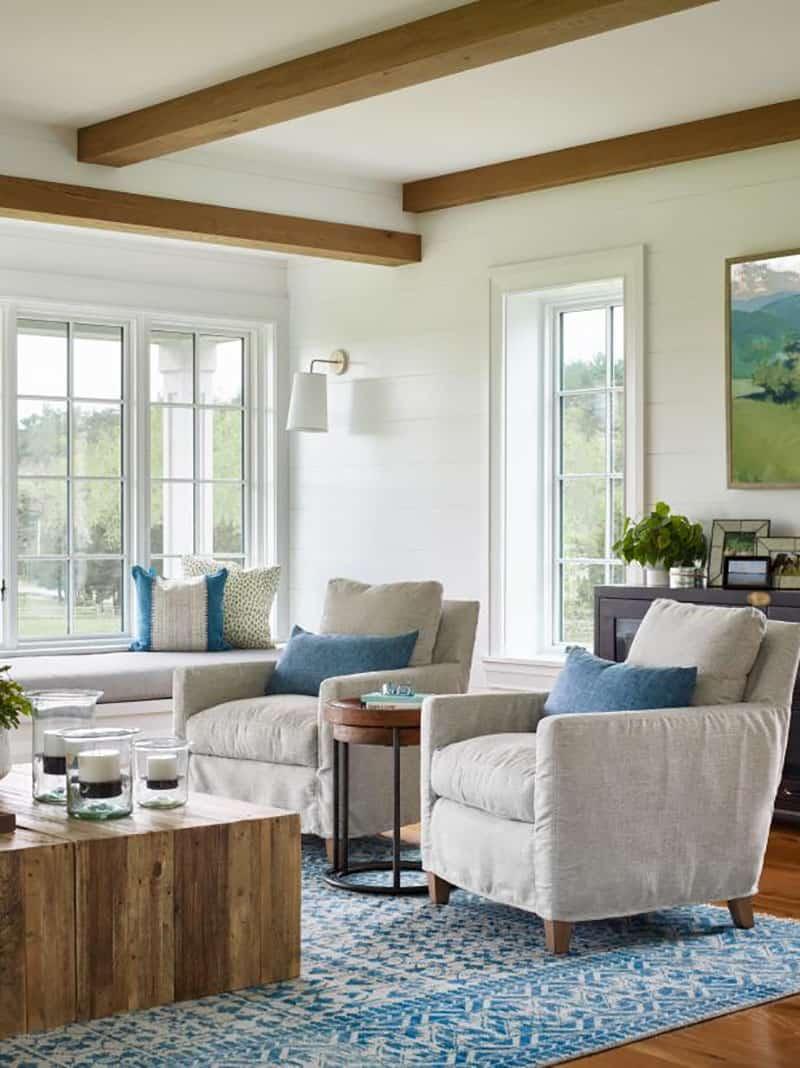 nova-engleska-moderna-seoska kuća-dnevna soba