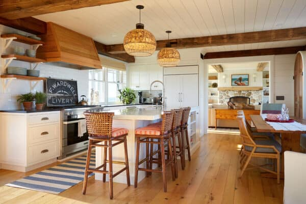 featured posts image for Charming oceanfront beach house in Maine with nautical-inspired interiors