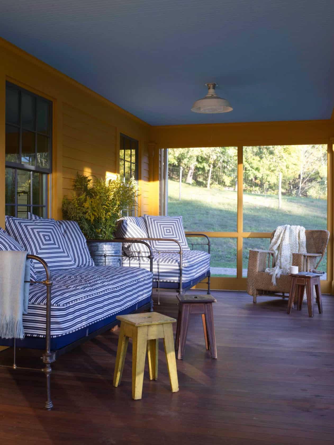 seoska kuća-zaslon-dizajn trijema