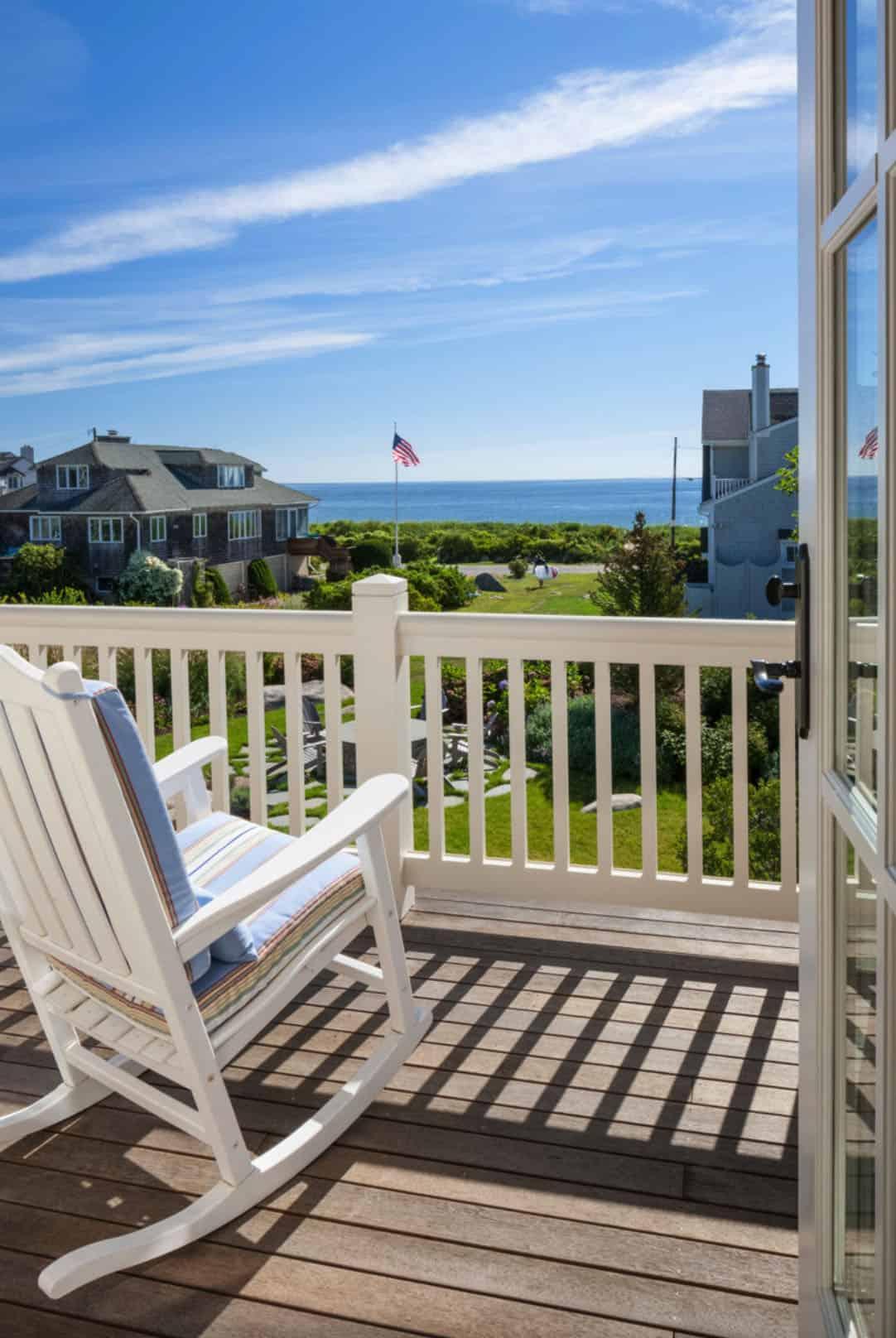 balkon u stilu plaže