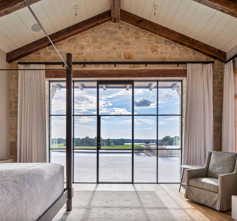 rustikalno-ranč-spavaća soba