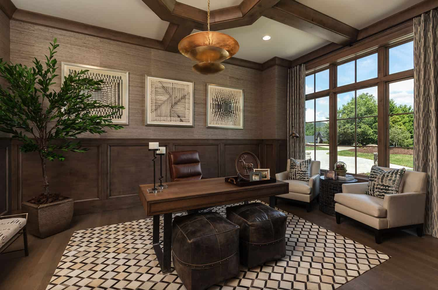 european-style-home-office