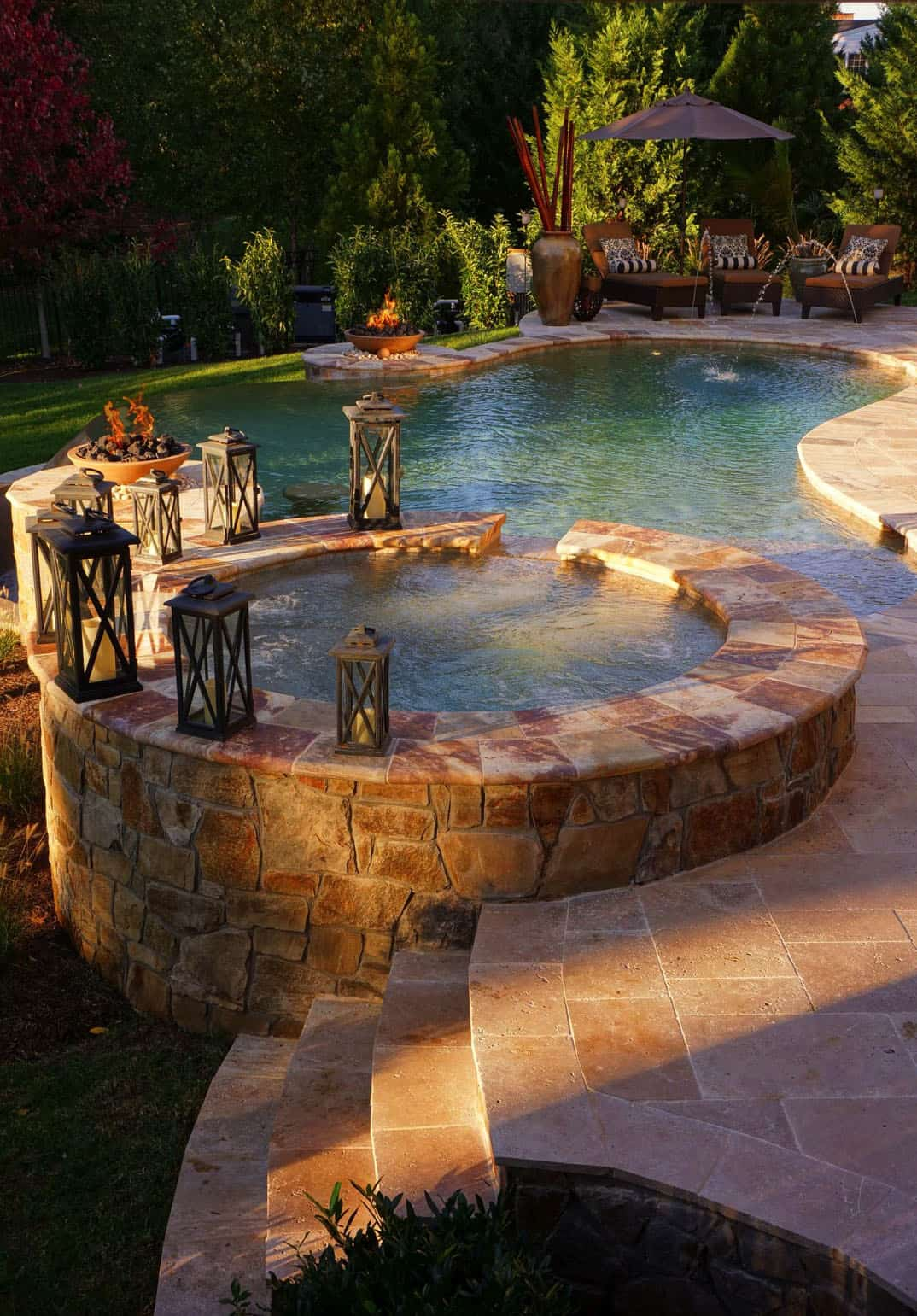 23 Amazing Outdoor Hot Tub Ideas For A Sanctuary Of Relaxation