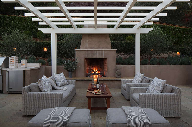 pergola-design-ideas-outdoor-living-room-with-fireplace