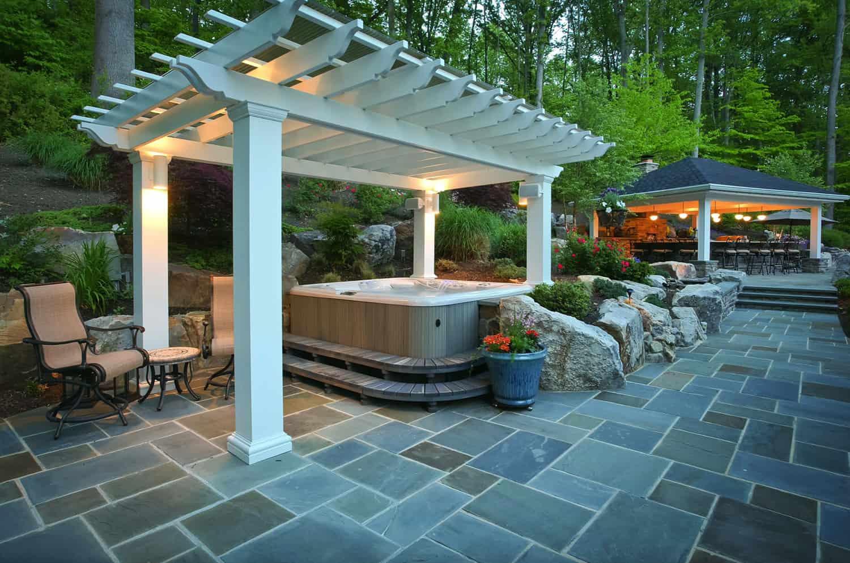 pergola-design-ideas-hot-tub