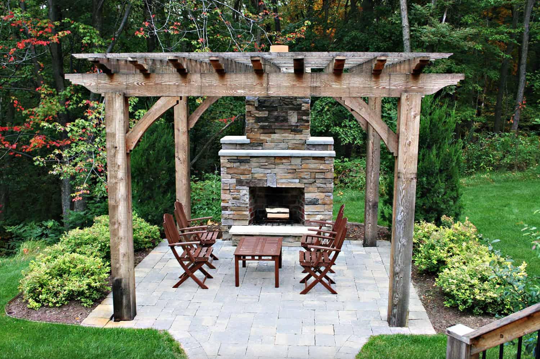 pergola-design-ideas-with-fireplace